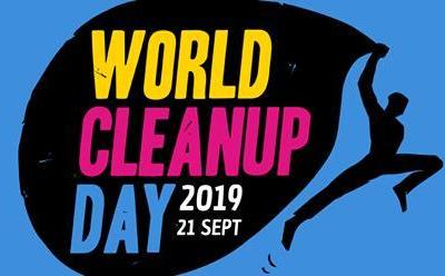 Le samedi 21 septembre, c'est le World clean up Day !