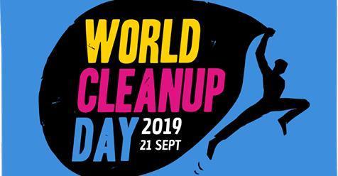 Le samedi 21 septembre, c'est le World clean up Day !