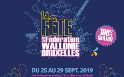 Vendredi 27 septembre : fête de la Fédération Wallonie-Bruxelles