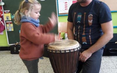 Atelier N°2 des jeunesses musicales à l'école maternelle