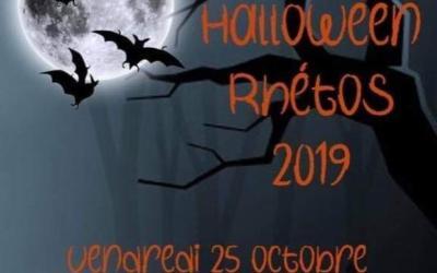 Première journée à thème de nos rhétos : Halloween !