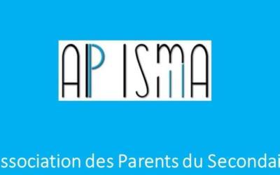 L'AP secondaire a besoin de vous ! Rencontrez-les ce vendredi 20/12 durant la réunion de parents !
