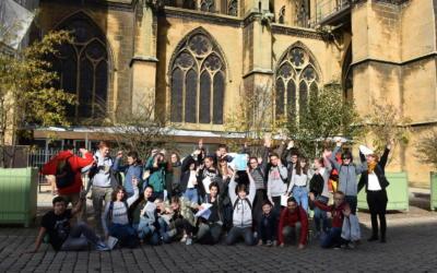 Sortie culturelle à Metz pour les élèves de 4ème latin !