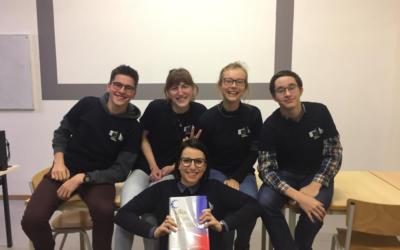 Participation de 4 rhétos au concours de traduction de la Commission Européenne !