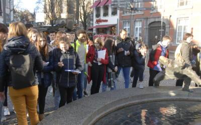 Visite d'Aachen pour les élèves de 3ème latin et allemand !