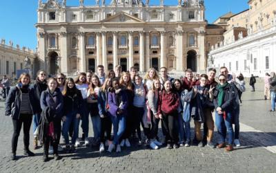 Retour sur le voyage culturel à Rome des 5ème histoire 4/ latin !