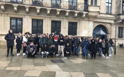 Retour sur l'échange linguistique avec les élèves de la NGO Frankfurt !