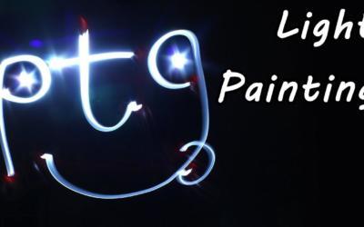"""Défi """"Light Painting"""" pour les élèves de 1ère secondaire de Mme Doucet !"""