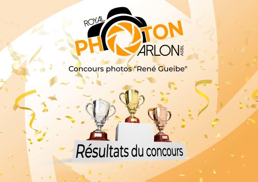 Résultats du concours René Gueibe !