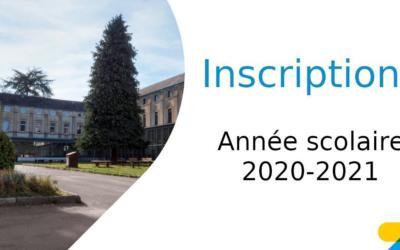 Modalités d'inscription pour l'année scolaire 2020-2021 pour l'enseignement fondamental et secondaire