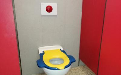 Les voici, les voilà, nos nouvelles toilettes!