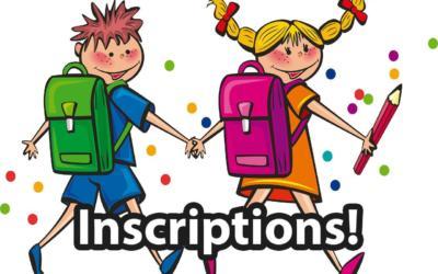 Inscrivez votre enfant dès maintenant au fondamental pour septembre 2021 !