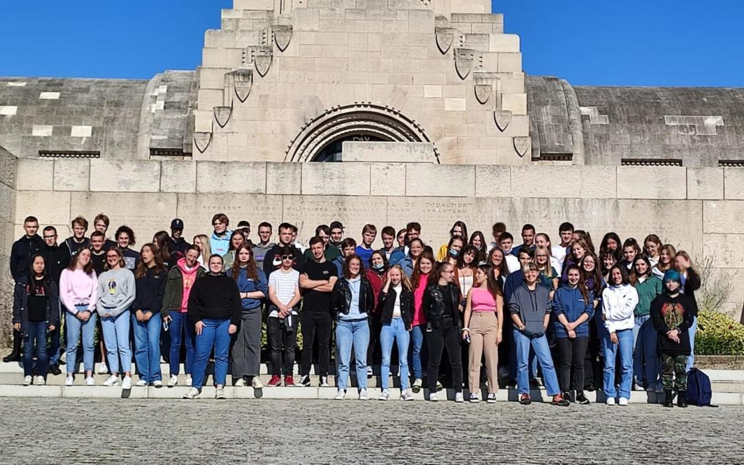 Retour des élèves de 6ème histoire 2h et 4h (6A, B et E) à propos de leur journée à Verdun